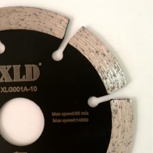 XLD 105mm Diamond Cold-pressed Segmented Saw Blade for Dry Cutting -