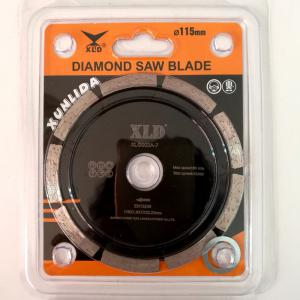 XLD 115mm Diamond Saw Blade Cold-pressed Segmented Dry Cutting Disc -