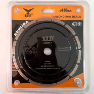 XLD 7 Inch Diamond Cold-pressed Segmented Saw Blade Dry Cutting -