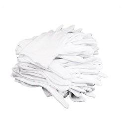 10 Pairs Cotton White Moisturising Lining Glove Health Music Canvas Work -