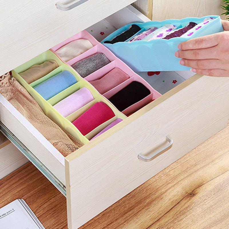 Unique DIHE Candy Color Separated Underwear Boxes in Drawer 1PC